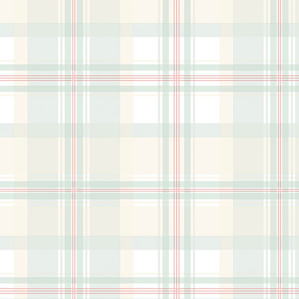 green and beige plaid wallpaper wallcovering