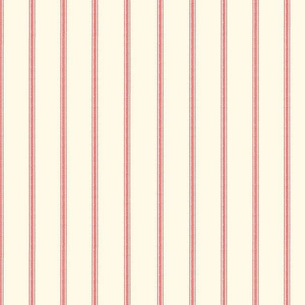 red and beige stripe wallpaper wallcovering