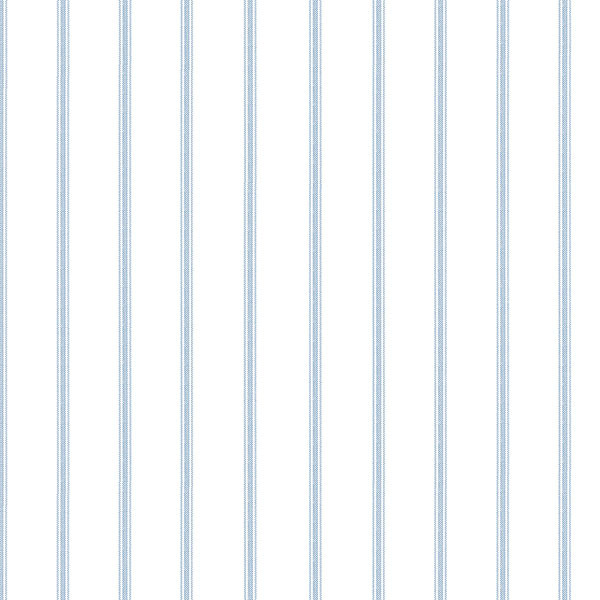 blue on white stripe wallpaper wallcovering