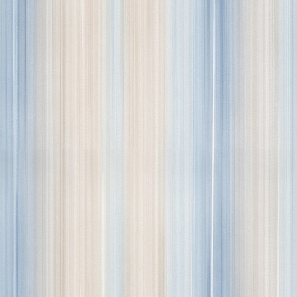 Pearl, blue and taupe ombre light reflective stripe wallcovering
