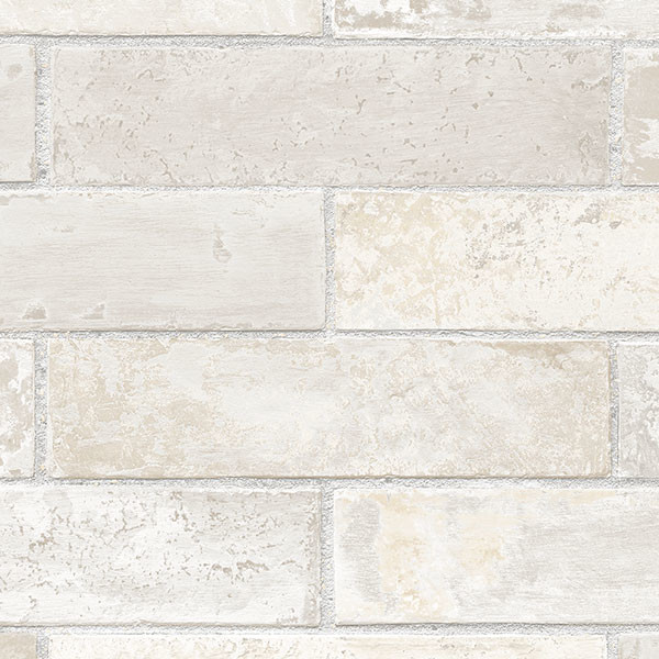 lt grey brick wallcovering