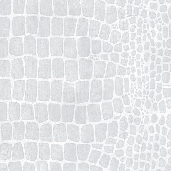 grey crocodile skin texture wallcovering