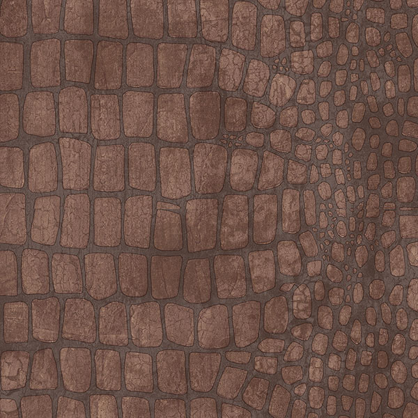 brown crocodile skin texture wallcovering