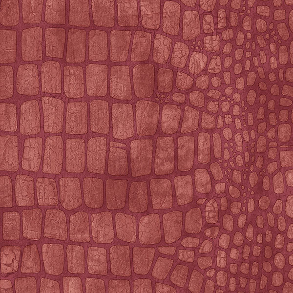 red crocodile skin texture wallcovering