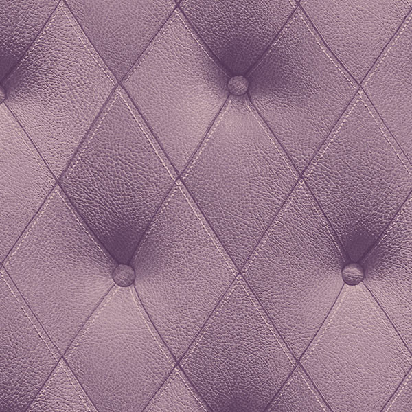 purple button back wallcovering