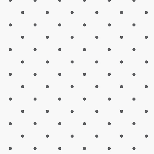black dots on white background wallcovering