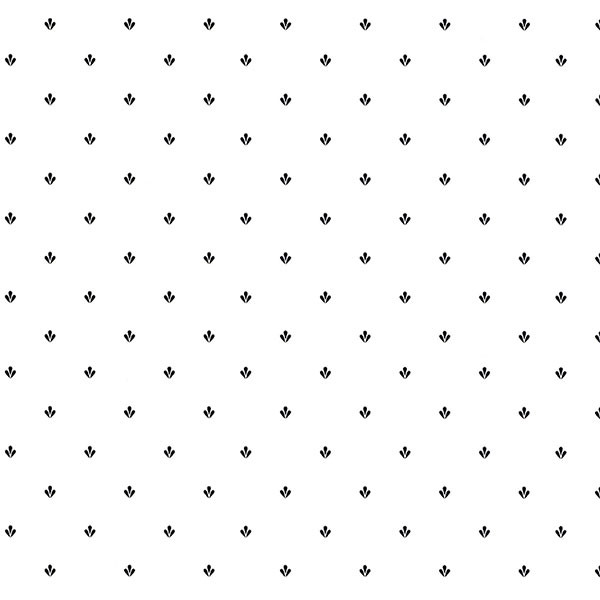 black dot like on white wallcovering