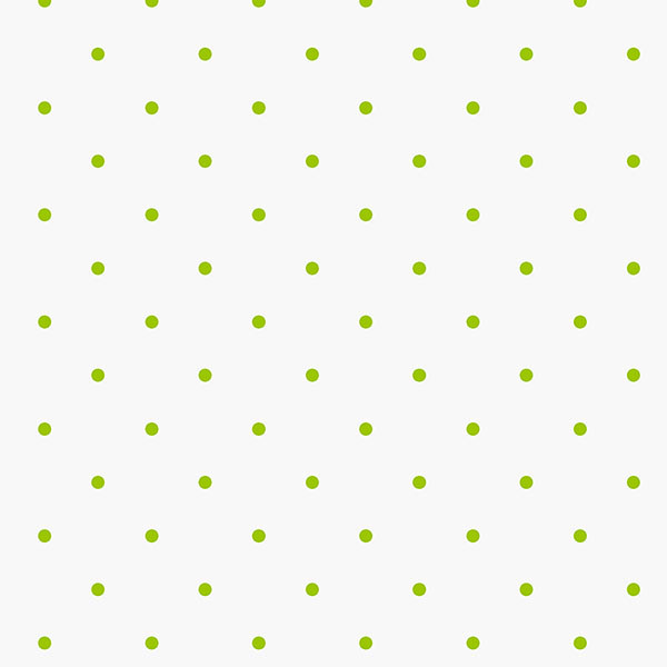 green dots on white background wallcovering