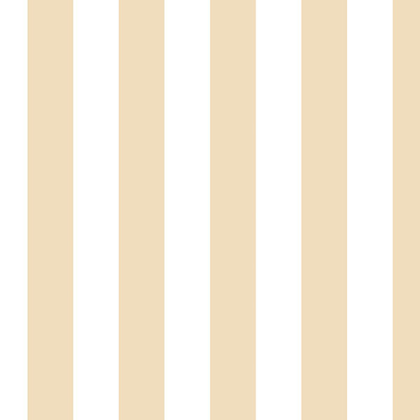 Beige and white Regency stripe wallcovering