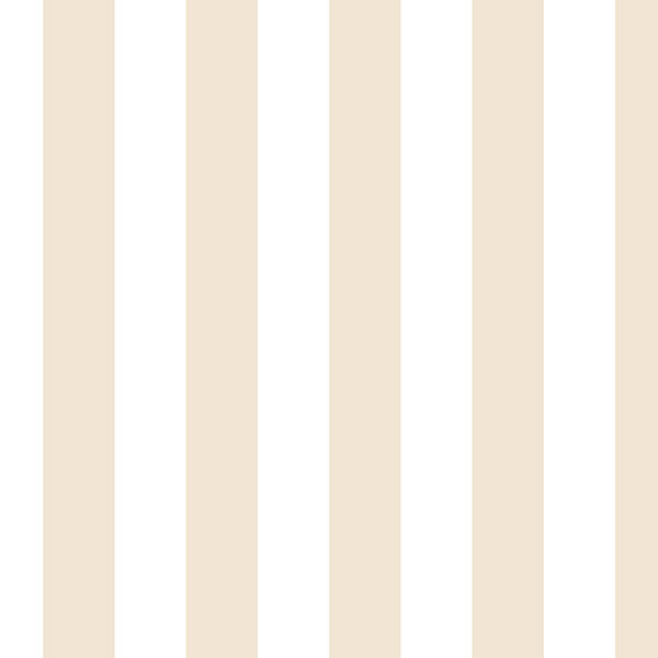 Taupe and white Regency stripe wallcovering